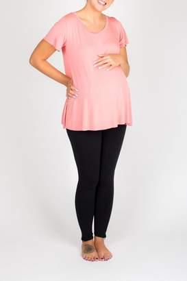 Nom Maternity Mimi Tee Rose