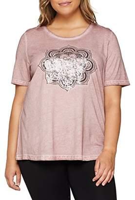 73720c44944c4 Ulla Popken Women s Plus Size Mandala Stamp Cold Dye Tee 32 34 716158 56-