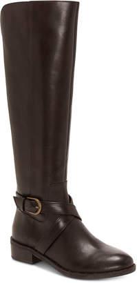 INC International Concepts I.n.c. Fadora Riding Boots, Women Shoes