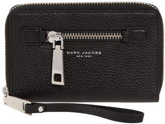 Marc Jacobs Gotham Zip Around Wallet W/ Wristlet