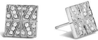 John Hardy Square Diamond Studs