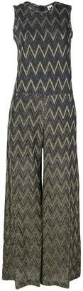 M Missoni zigzag pattern jumpsuit