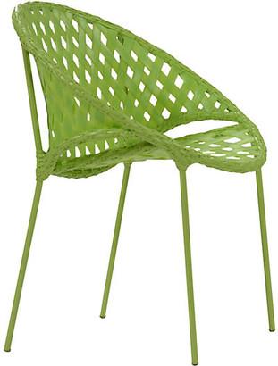 David Francis Furniture Tik-Tak Stacking Chair - Lime