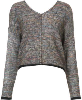 Raquel Allegra space-dye v-neck sweater
