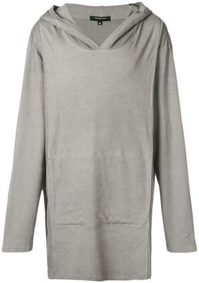 Unconditional longline hoodie