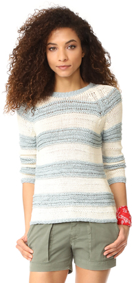 BB Dakota Harrington Striped Sweater $95 thestylecure.com