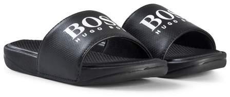 Black Branded Sliders