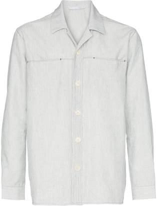 Lot 78 Lot78 pinstripe shirt