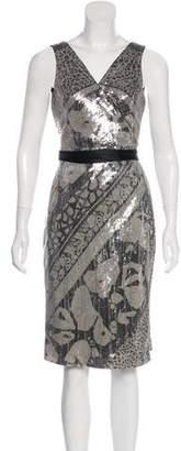 Diane von Furstenberg Sequined Midi Dress