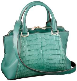 Cartier Mini Leather C de Crocodile Tote Bag