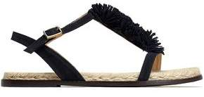 Castaner Margarita Fringed Suede Sandals