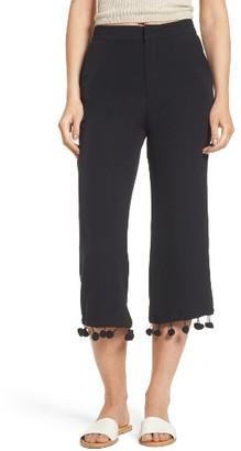 Women's Tularosa Huntington Pompom Crop Pants $148 thestylecure.com