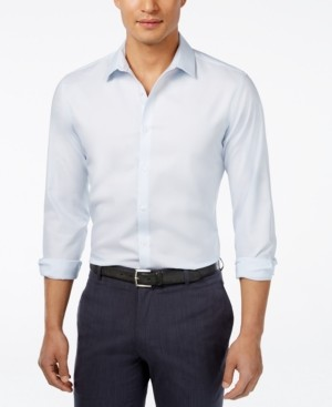 INC International Concepts I.n.c. Men's Kurt Non-Iron Shirt, Created for Macy's