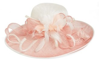 Women's Nordstrom Sinamay Derby Hat - Pink $79 thestylecure.com