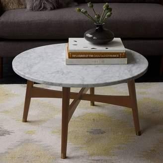 west elm Reeve Mid-Century Coffee Table - Marble