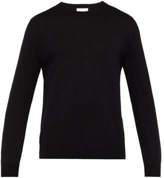 Handvaerk - Crew Neck Cotton Sweater - Mens - Black