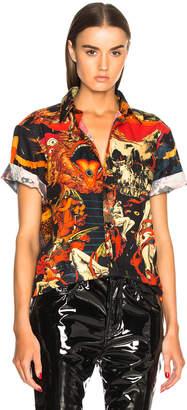 Givenchy Print Short Sleeve Shirt