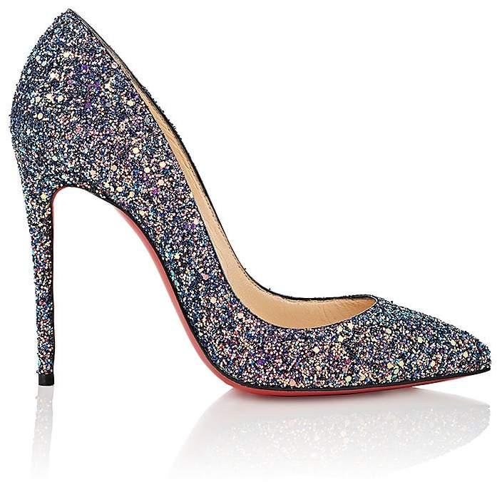 Christian Louboutin Women's Pigalle Follies Glitter Pumps