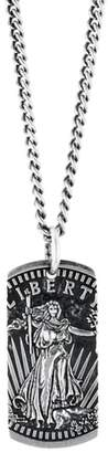 King Baby Studio American Voices Liberty Dog Tag Necklace