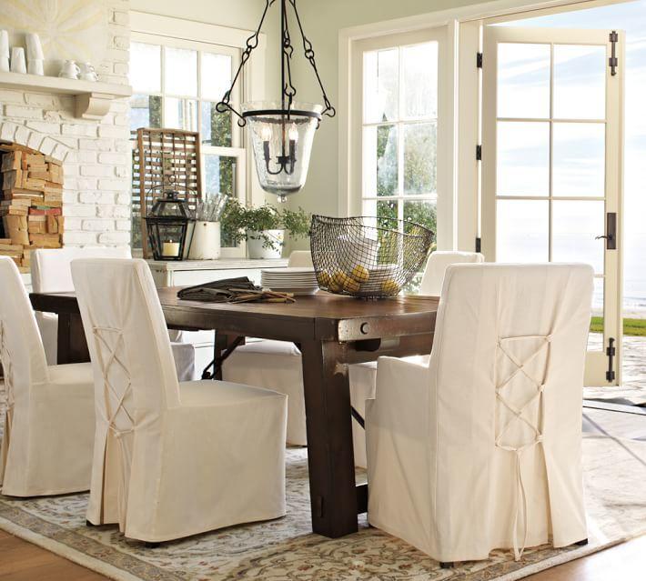 Pottery Barn Napa Chair & Slipcovers