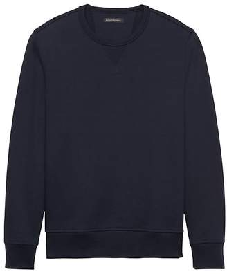 Banana Republic French Terry Crew-Neck Sweatshirt