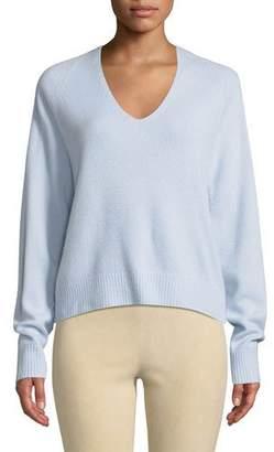 Vince V-Neck Raglan Cashmere Sweater