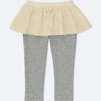 Uniqlo Toddler Pile-lined Skirt Pants