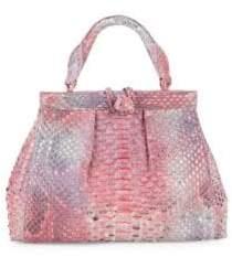 Nancy Gonzalez Genuine Python Tote Bag