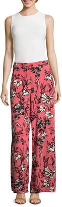 5twelve Floral Wide-Leg Pants