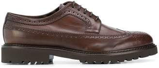Doucal's thick sole brogues