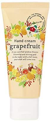 サンハーブ ハンドクリーム グレープフルーツ 50g(手肌用保湿クリーム 日本製 シャキっとまぶしい柑橘系の香り)