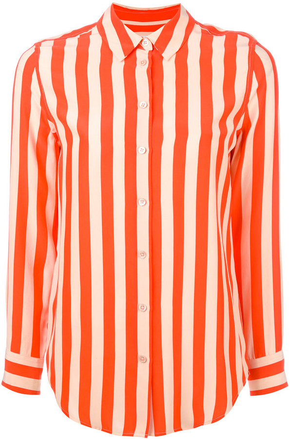 Equipment Equipment striped shirt