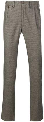 Incotex plaid tailored trousers