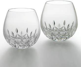 Waterford Crystal Lismore Nouveau Light Red Wine Glasses, Set of 2