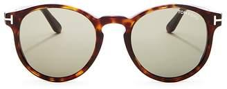 Tom Ford Men's Ian Round Sunglasses, 51mm