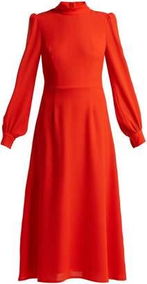 Goat Goldfinch wool-crepe dress
