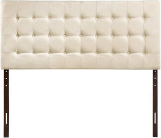 Modway Tinble Queen Tufted Upholstered Fabric Headboard