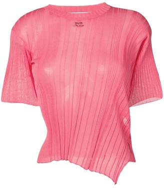 a1c48b9f Pink Knit Top - ShopStyle