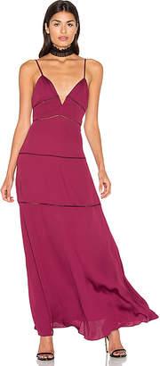 MAJORELLE Tyler Dress in Wine $228 thestylecure.com