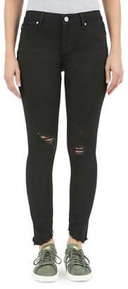 Articles of Society Sammy Pierre Diagonal Hem Skinny Jeans