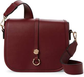Moda Luxe Burgundy Whitney Faux Leather Crossbody