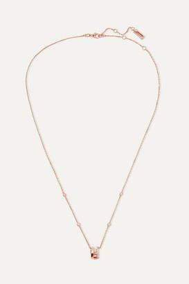 Messika Move Romane 18-karat Rose-gold Diamond Necklace - Rose gold