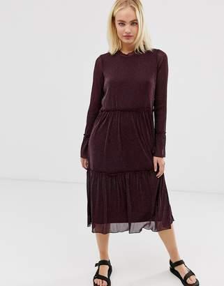 Minimum Moves by sheer midi dress