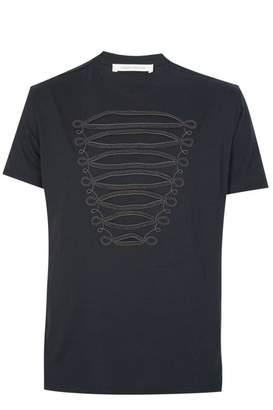 Pierre Balmain PierreBalmainZipDetailT-shirtBlack