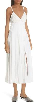 3.1 Phillip Lim Pleated Cotton Dress