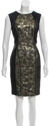 Jason Wu Sleeveless Metallic Dress
