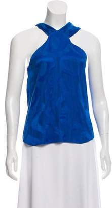 Isabel Marant Patterned Sleeveless Top Patterned Sleeveless Top