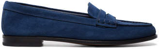 Church's Blue Kara suede loafers