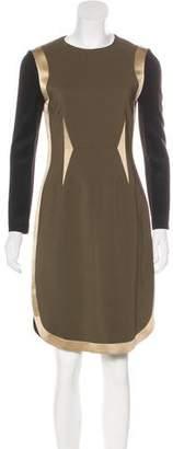Givenchy Paneled Sheath Dress