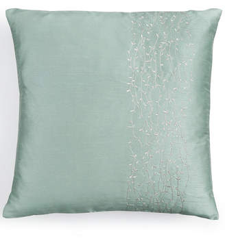 "Calvin Klein 18"" Square Metal Branches Decorative Pillow Bedding"